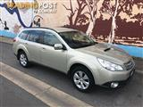 2010 SUBARU OUTBACK 2.0D MY11 4D WAGON