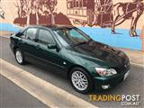 2002 LEXUS IS200 GXE10R 4D SEDAN