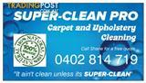 Wanted: SUPER-CLEAN PRO Carpet and Upholstery Cleaning
