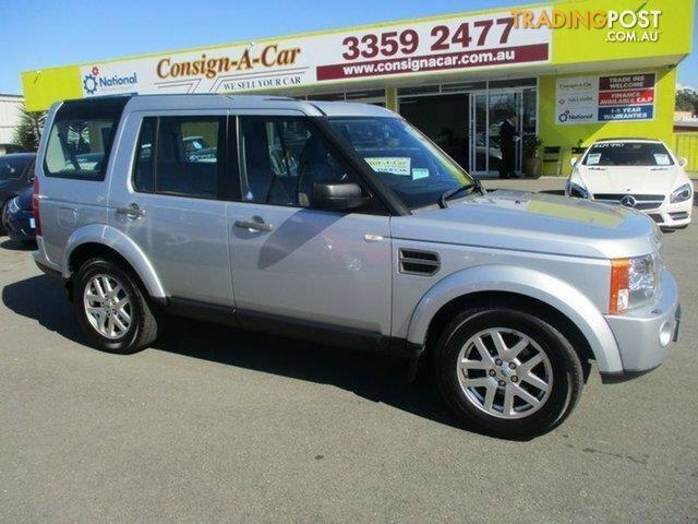 2009 Land Rover Discovery 3 Se Series 3 09my Wagon For Sale In