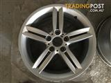 "Genuine BMW 130i 18"" wheels"