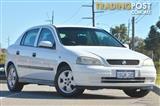 2002 Holden Astra CD TS Hatchback