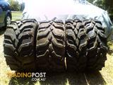 Set of buggy tyres