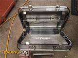 Portable BBQ camping grill / stainless steel
