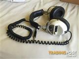 60's Vintage Dynamics Stereo Headphones / Made in Japan