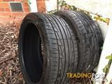 215/40/17 GoodYear Eagle 1 TYRES / 215 new for one