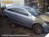 2005 HOLDEN ASTRA RIGHT FRONT DOOR WINDOW 3 DR COUPE