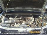 2004 HOLDEN RODEO TURBOCHARGER PT NO 8973109483