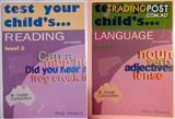 TEST YOUR CHILD'S LANGUAGE/READING WORKBOOKS