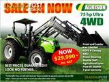 75HP Ultra Agrison Tractor