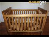 Boori Cot - Heritage Teak- Excellent Condition