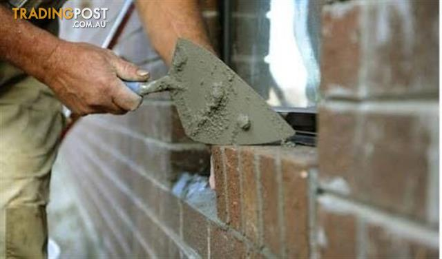 EXPERIENCED BRICKLAYER WANTED