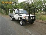 2013  TOYOTA LANDCRUISER GXL VDJ79R MY13 CAB CHASSIS