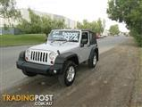 2009  JEEP WRANGLER SPORT JK MY2010 SOFTTOP