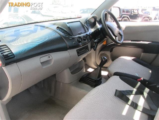 2007  MITSUBISHI TRITON GLX ML MY07 CAB CHASSIS