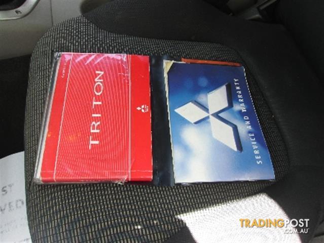 2009  MITSUBISHI TRITON GLX-R Double Cab MN MY10 UTILITY