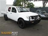2011  NISSAN NAVARA RX D40 MY11 CAB CHASSIS