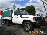 2006  TOYOTA LANDCRUISER  HZJ79R CAB CHASSIS