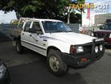 1997  FORD COURIER XL Crew Cab PD CAB CHASSIS