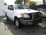 2008  TOYOTA HILUX SR KUN26R MY08 CAB CHASSIS