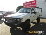 2002  TOYOTA HILUX XTRA CAB LN172R MY02 CAB CHASSIS