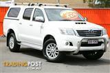 2011 Toyota Hilux SR5 Double Cab KUN26R MY12 Utility