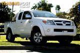 2005 Toyota Hilux SR5 Xtra Cab GGN25R MY05 Utility
