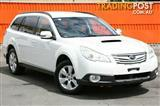 2011 Subaru Outback 2.0D AWD B5A MY11 Wagon