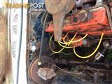 Holden 202 red long motor with 4 speed M20 gearbox