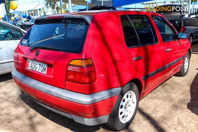 1995  Volkswagen Golf Gl  5 Dr Hatch