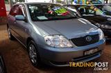 2003  Toyota Corolla Ascent ZZE122R Hatchback