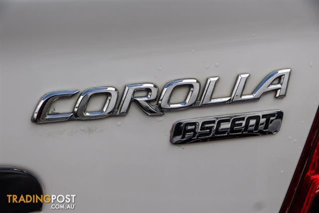 2005  Toyota Corolla Ascent ZZE122R 5Y Sedan