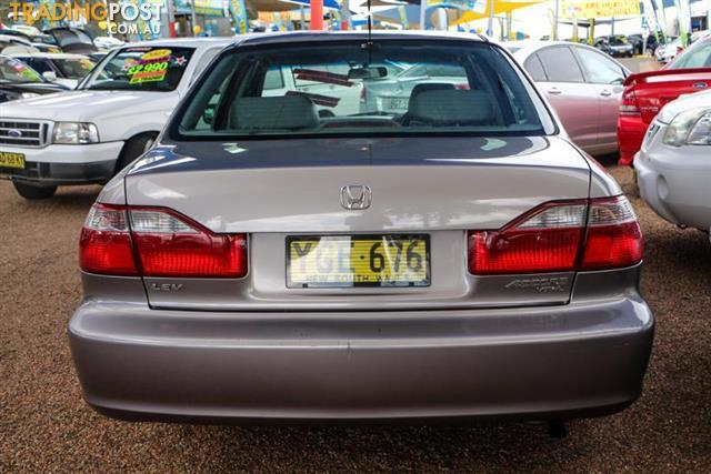 2002  Honda Accord VTi-L  Sedan