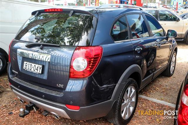 2008  Holden Captiva LX CG Wagon
