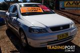2002  Holden Astra CD TS Hatchback