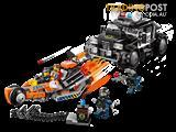 70808 THE LEGO MOVIE: Super Cycle chase