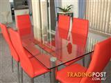 MODERN 6 SEATER DINING SUITE