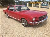 1966 FORD MUSTANG COUPE RIGHT HAND DRIVE