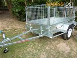 NO RUST TRAILERS-  7 X 4 AUSTRALIAN MADE TRAILER WITH CAGE