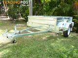 NO RUST TRAILERS. AUSTRALIAN MADE 7 X 5 WITH 500 mm HIGH SIDES.