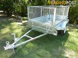 NO RUST TRAILERS.  7 x 4 Australian made cage trailer.
