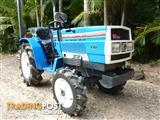 MITSUBISHI TRACTOR 4 X 4 WITH MOWER.