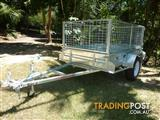 NO RUST TRAILERS.  6 x 4 Australian made cage trailer with tilt.
