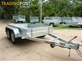 NO RUST TRAILERS.  8 x 5 Dual axle, 2 ton.  Australian made.
