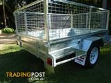 NO RUST TRAILERS.  7 x 5 AUSTRALIAN MADE CAGE TRAILER.