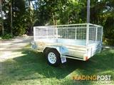 NO RUST TRAILERS.  8 x 5 Australian made with Tilt and Cage.
