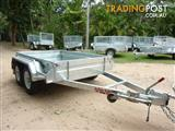 NO RUST TRAILERS.  Australian made and hot-dip galvanized 6x4, 7x4, 7x5, 8x5 trailers.