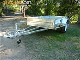 NO RUST TRAILERS.     7 x 4 AUSTRALIAN MADE BOX TRAILER.