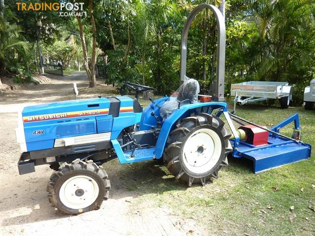 Mitsubishi Mt D Tractor Parts : Mitsubishi small garden tractor with mower for sale in