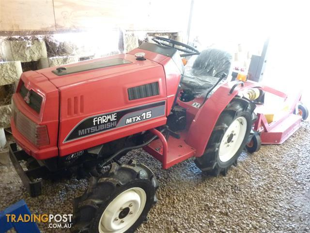 Mitsubishi Small Garden Tractor With Mower For Sale In Camira Qld Mitsubishi Small Garden